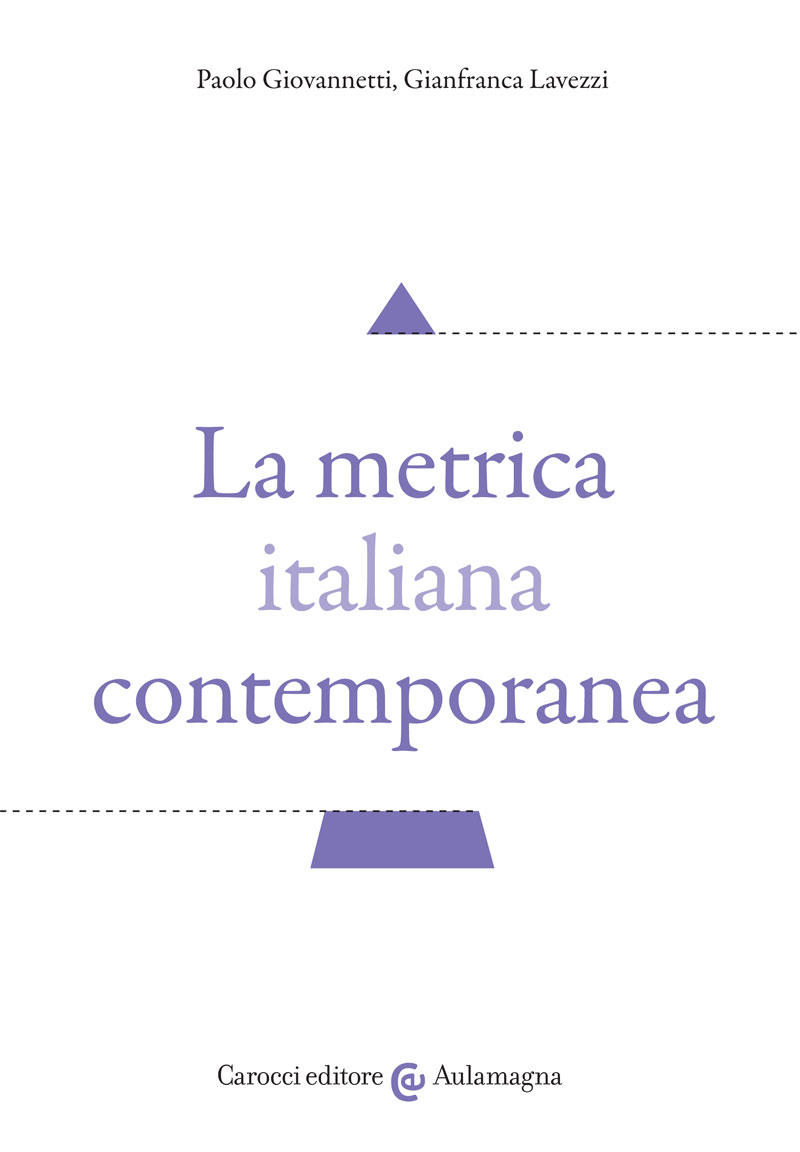 La metrica italiana contemporanea
